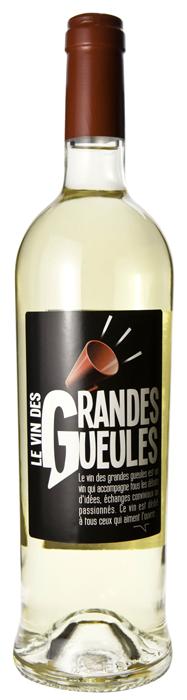 le vin des Grandes Gueules - le Blanc