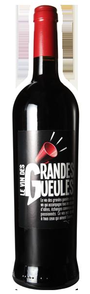 le vin des Grandes Gueules - le Rouge